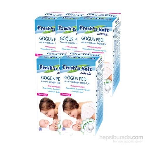 Fresh'n Soft Göğüs Pedi 5'li Paket (150 Adet)