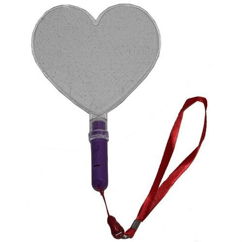 Pandoli Kalp Şeklinde Işıklı El Aksesuarı