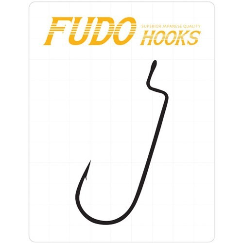 Prusa Fishing Fudo 5901 Fudo Worm 114 Black Nıkel No:1/0