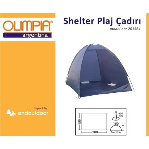 Olimpia Shelter Plaj Çadırı