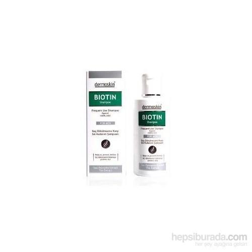 Dermoskin Biotin For Men Saç Bakım Losyonu-Biotin For Men Şampuan Hediye