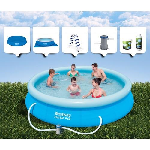 Bestway Şişme Aile Havuzu 366 Cm X 76 Cm Bw 154