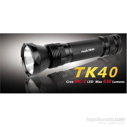 Fenix Tk40 El Feneri 630 Lümens