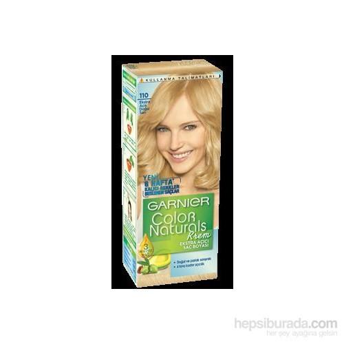 Garnier Color Naturals 110 - Ekstra Açık Doğal Sarı Saç Boyası