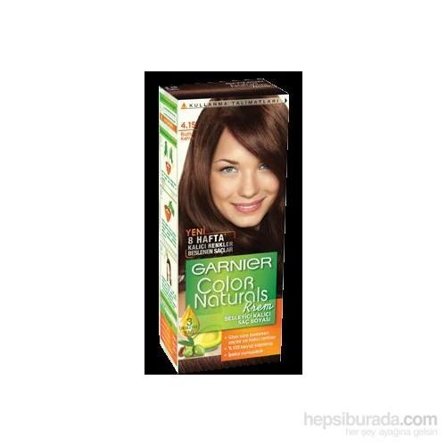 Garnier Color Naturals 4/15 - Buzlu Kahve Saç Boyası