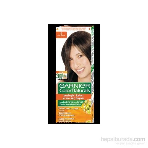Garnier Color Naturals 5/0 - Açık Kahve Saç Boyası