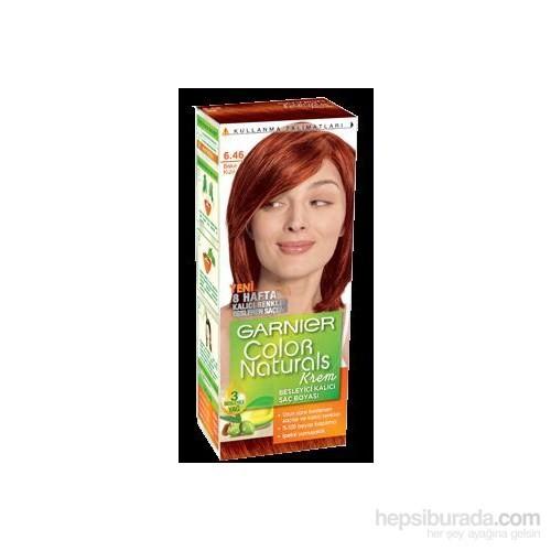 Garnier Color Naturals 6/46 - Bakır Kızıl Saç Boyası