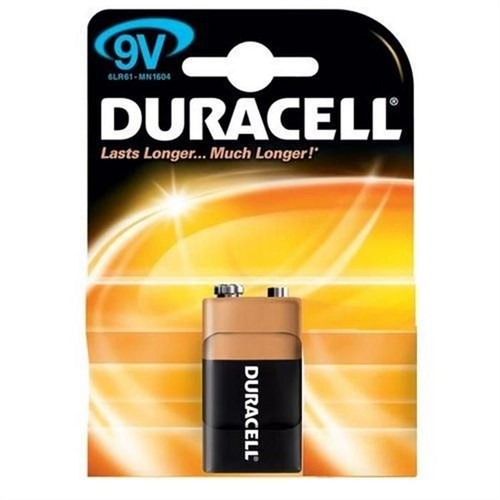 Duracell 9 Volt Pil