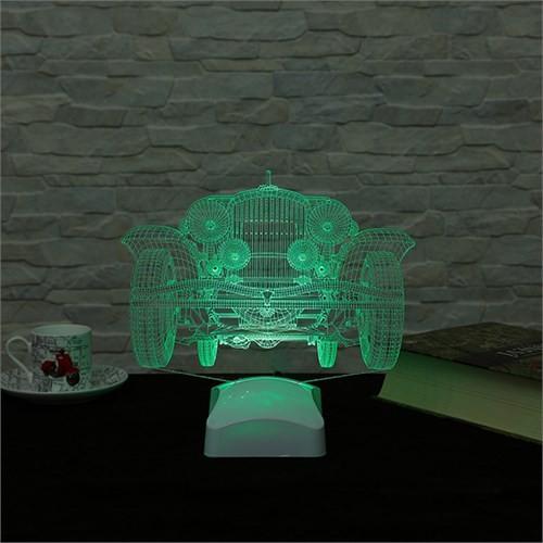 Dekorjinal 3 Boyutlu Klasik Araba Lamba V23d081
