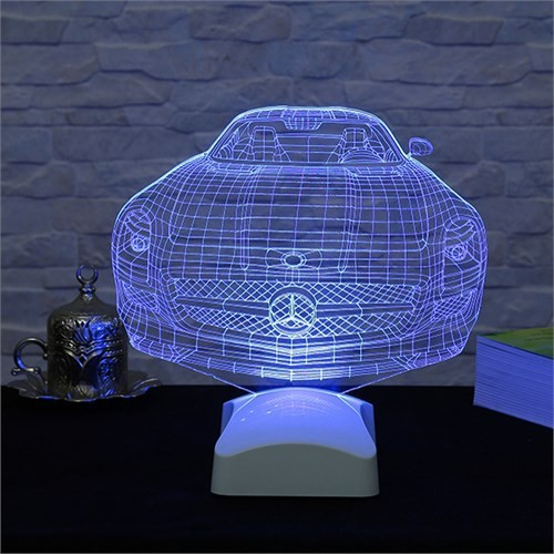 Dekorjinal 3 Boyutlu Mercedes Lamba V23d082