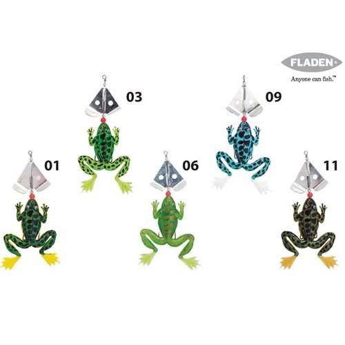 Fladen Kurbağa Döner Kaşıklı 9 Cm Renk:06