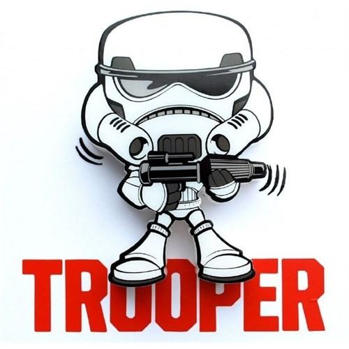 3D Light Fx Star Wars Stormtrooper Mini Duvar Lambası