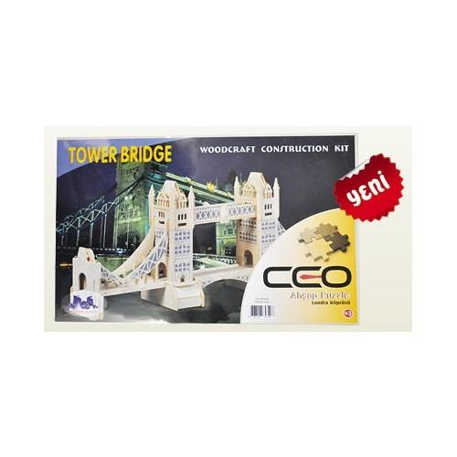 Ceo 3D Ahşap Puzzle Londra Köprüsü Ceo-Ap0004
