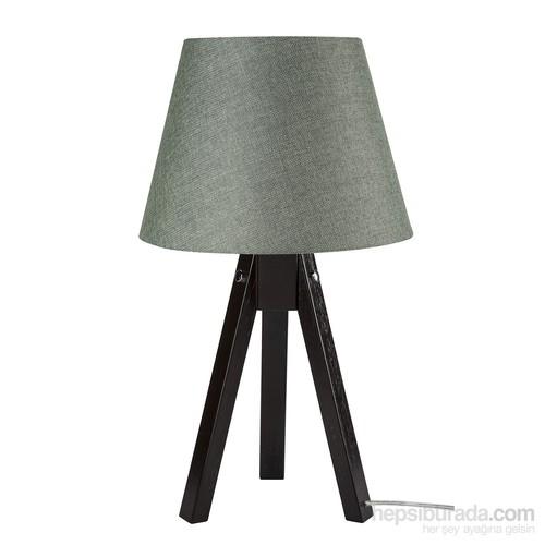 Modelight Trıpod Abajur Kahve Ayak / Yeşil Şapka