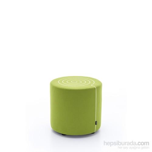 Ersa Mobilya Ersa Scroll Puf - Fıstık Yeşili
