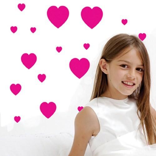 Funtosee Dekoratif Stickerlar Love Hearts
