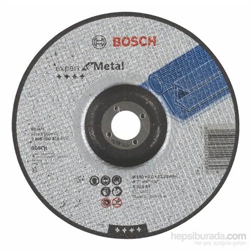 Bosch - Expert Serisi Metal İçin Bombeli Kesme Diski (Taş) - A 30 S Bf, 180 Mm, 3,0 Mm