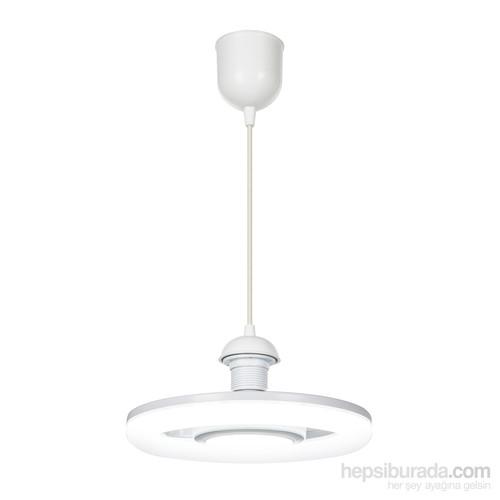 Modelight 20W Sensörlü Simit Led Ampul / Beyaz Işık
