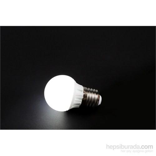 Cata Led Ampul 3W E-27 Beyaz Işık
