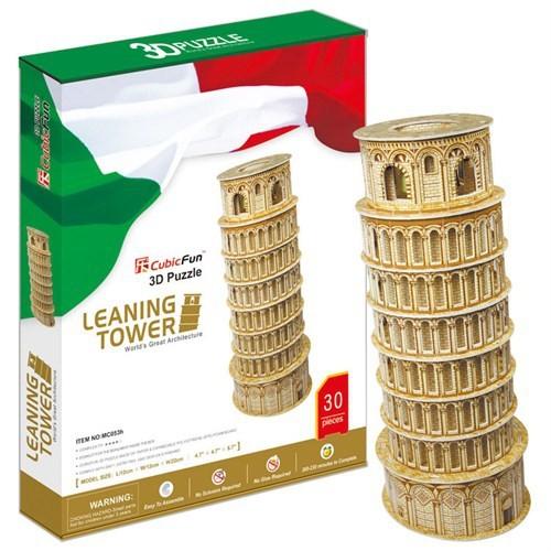 Cubic Fun Puzzle Pisa Kulesi (3 Boyutlu)