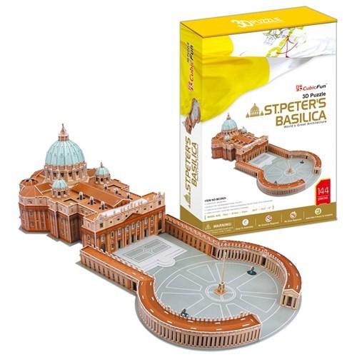 Cubic Fun Puzzle St. Peter's Basilica (3 Boyutlu)