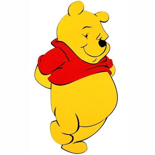Winnie The Pooh Eva Duvar Süsü