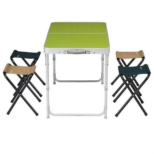Piknik Masası 4/6 Kişilik Katlanır Taşınabilir Masa