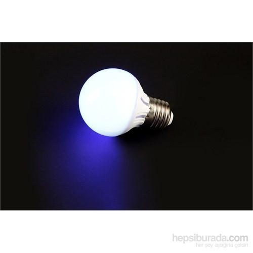 Cata Led Ampul 4W E-27 Mavi Işık