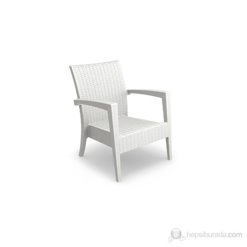 Siesta 850 Miami Tekli Koltuk Beyaz - 1 Adet