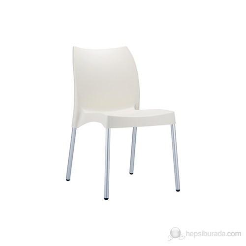 Siesta 049 Vita Sandalye (Alüminyum Ayaklı) Bej - 1 Adet