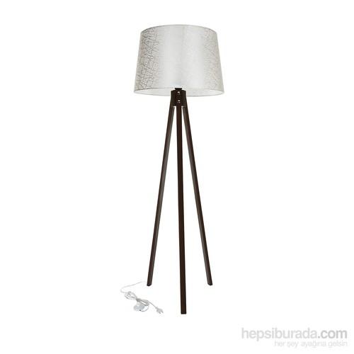 Modelight Mode Light Trıpod Lambader Kahve / Açık Krem File Desenli Şapka