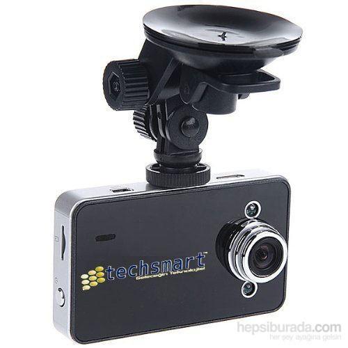 """Techsmart Ghk-1013 2,7"""" Ekran 1080P Full Hd Araç İçi Kamera"""