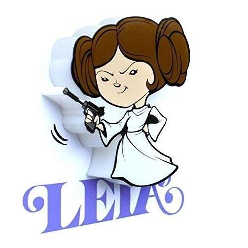 3D Light Fx Star Wars Leia Mini Duvar Lambası