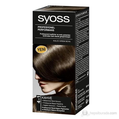 Syoss 4-1 Kahve 50Ml