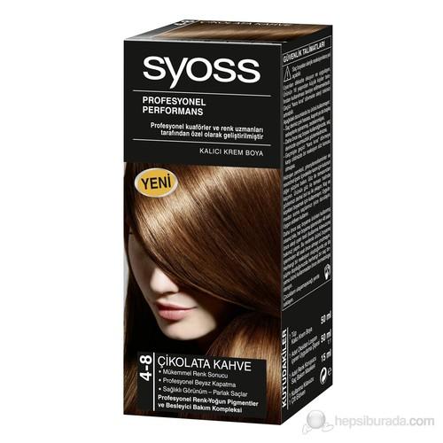 Syoss 4-8 Çikolata Kahve 50Ml
