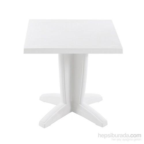 Papatya Bravo Masa Beyaz