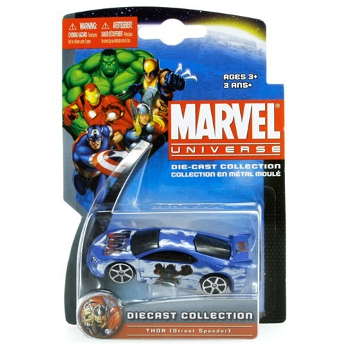 Marvel Universe Thor Street Speeder