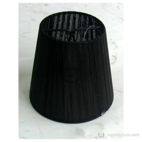 Tek-İş - Avize Şapkası Organze Siyah