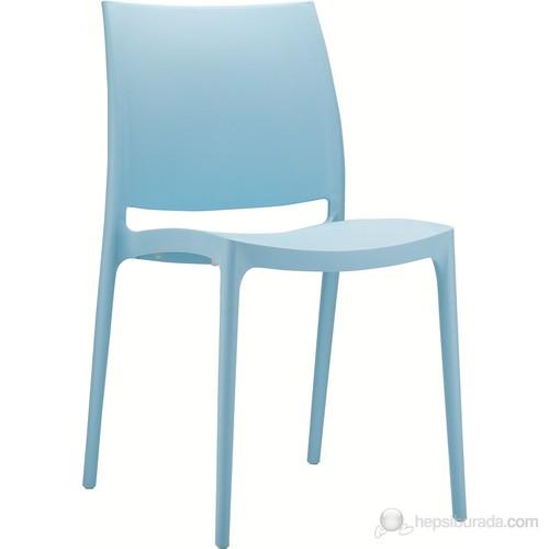 Siesta 025 Maya Sandalye (Hi-Tech) Açık Mavi - 1 Adet