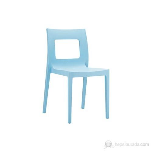 Siesta 026 Lucca Sandalye (Hi-Tech) Açık Mavi - 1 Adet