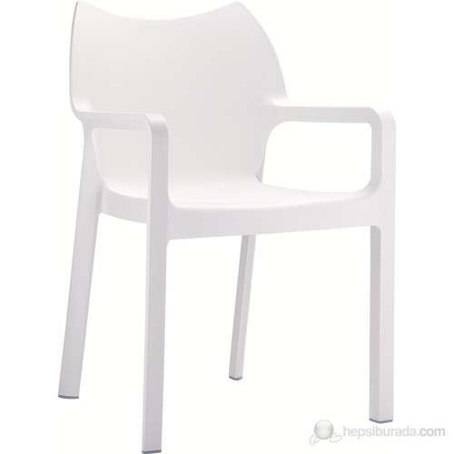 Siesta 028 Diva Koltuk (Hi-Tech) Beyaz - 1 Adet