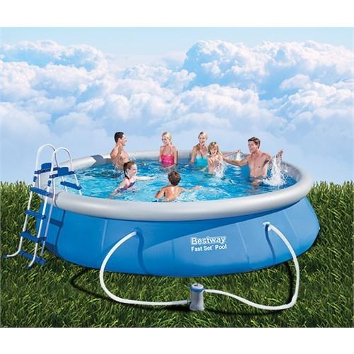 Bestway Büyük Şişme Aile Havuzu 457Cm X 91Cm Bw 147