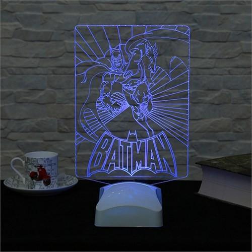 Dekorjinal 3 Boyutlu Batman Lamba V23d152