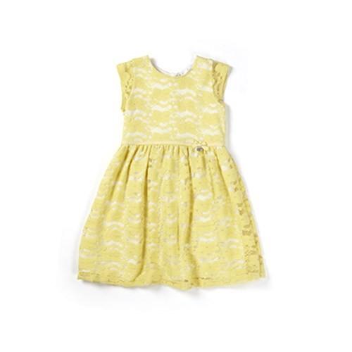 Zeyland Kız Çocuk Sarı Elbise - K-61M4ECM32