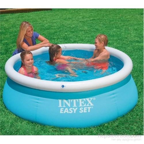 İntex Kolay Kurulumlu Mavi Aile Havuzu 183 X 51 Cm 28101