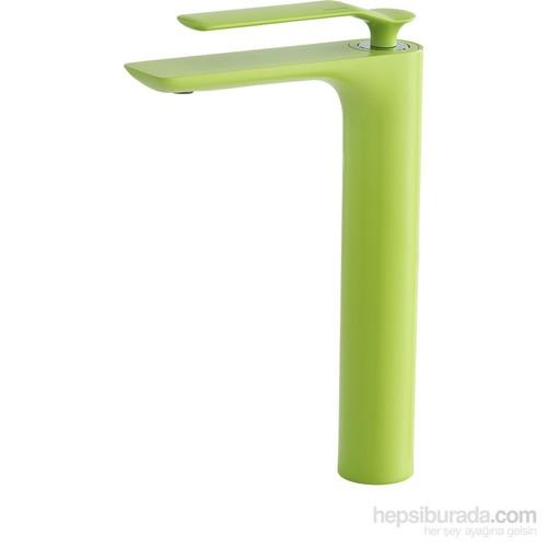 Kalibagno Gio Yüksek Lavabo Bataryası Yeşil