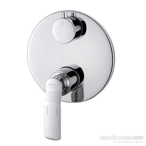 Kalibagno Gio Üç Yönlü Ankastre Banyo Bataryası Krom