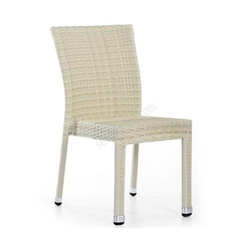 Sette P633 Kolsuz Sandalye Beyaz