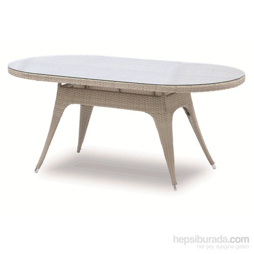 Sette Ta 053 Kırık Beyaz Bahçe Masası