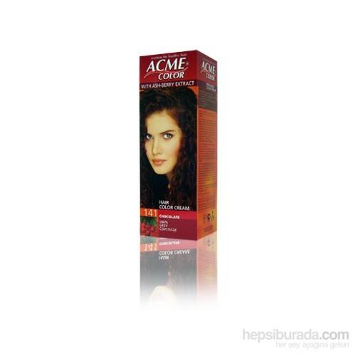 Acme Color Bitkisel Saç Boyası Çikolata Kahve 141